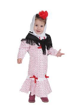 disfraz de chulapa o madrileña para bebe