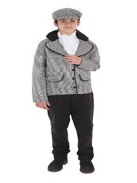 disfraz de chulapo madrileño con chaqueta niño