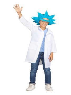 disfraz de cientifico loco niño