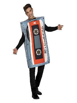 disfraz de cinta casette para adultos
