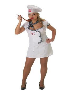 disfraz de cocinera corazones para mujer