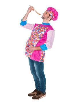 disfraz de cocinero chicote para hombre