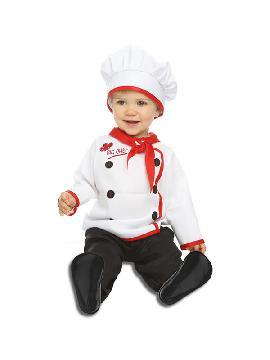disfraz de cocinero elegante para bebe