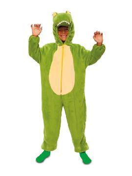 disfraz de cocodrilo deluxe infantil