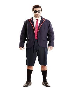 disfraz de colegiala para hombre