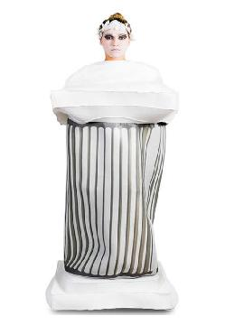disfraz de columna griega para adultos