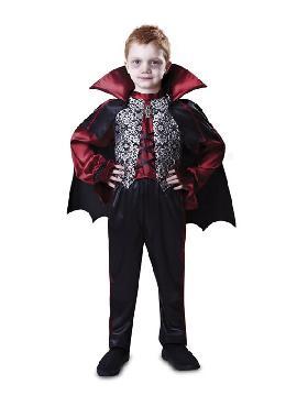 disfraz de conde dracula deluxe para niño
