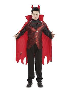 disfraz de conde vampiro para hombre