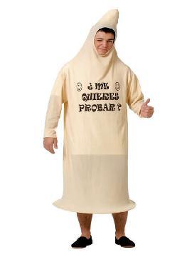 disfraz de condon para hombre