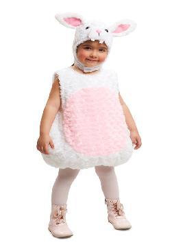 disfraz de conejito de peluche niña