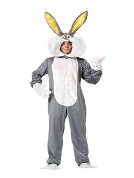 disfraz de conejo bugs bunny adulto