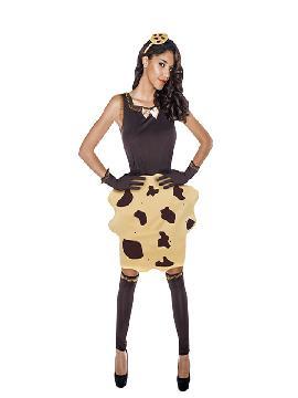 disfraz de cookie mujer adulto