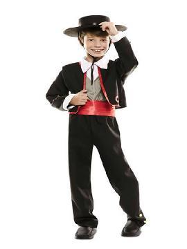 disfraz de cordobes para niño