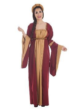 disfraz de cortesana medieval para mujer