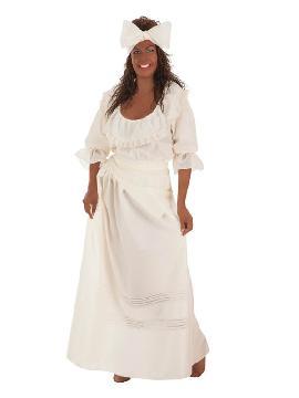 disfraz de cubana beige para mujer