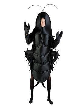 disfraz de cucaracha negra adulto