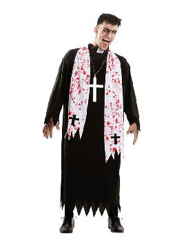 disfraz de cura exorcista para hombre