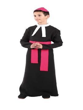 disfraz de cura niño