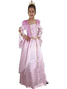 disfraz de dama renacentista niña