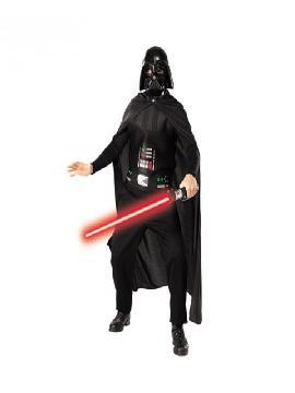 disfraz de darth vader con espada star wars para adulto