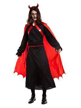 disfraz de demonio del infierno hombre