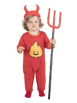 disfraz de demonio llamas bebe
