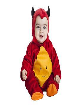 disfraz de demonio rojo bebe