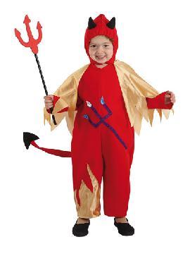 disfraz de demonio rojo bebe. Es muy cómodo para vestir a los diminutos de la casa, y que puedan hacer mil travesuras en las fiestas temáticas de las guarderías, en halloween.Este disfraz de diabla es ideal para tus fiestas temáticas de disfraces de miedo y diablos para bebes infantiles.
