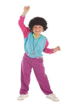 disfraz de deportista años 80 para niño