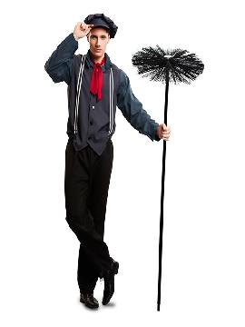 disfraz de deshollinador mary poppins hombre