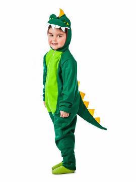 disfraz de dinosaurio verde para niño