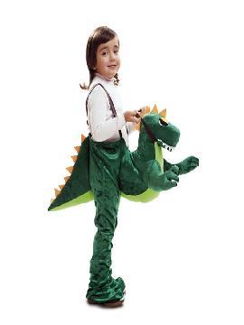 disfraz de dinosaurio rider para niño