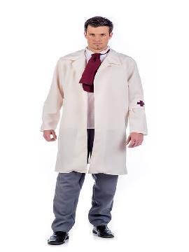 disfraz de doctor vintage hombre