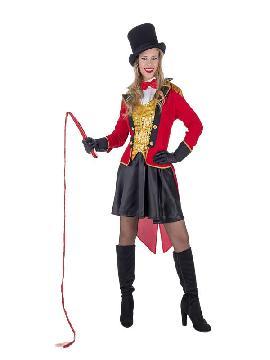 disfraz de domadora presentadora para mujer