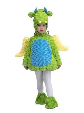 disfraz de dragon peluche para niño