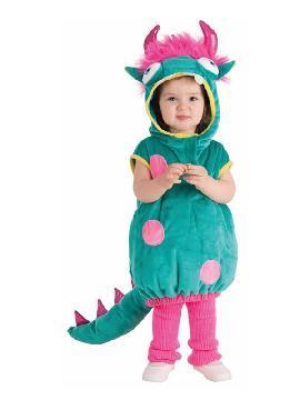 disfraz de dragon verde para bebe