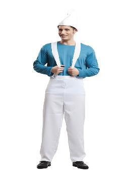 disfraz de duende azul para hombre