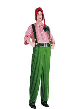 disfraz de duende barrigon hombre adulto