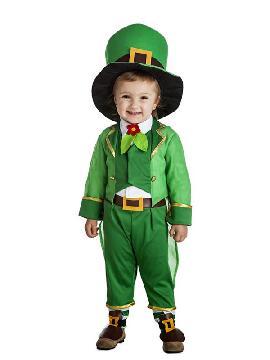 disfraz de duende irlandes niño