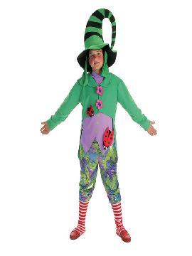 disfraz de duende verde para niño