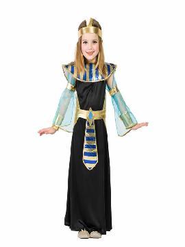 disfraz de egipcia negra para niña