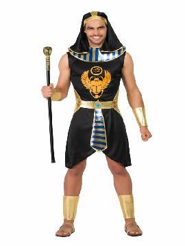 disfraz de egipcio negro para hombre