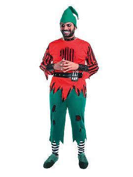 disfraz de elfo asesino hombre