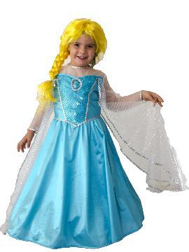 disfraz de princesa elsa fantasia niña