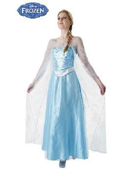 disfraz de elsa frozen adulto deluxe varias tallas. Siéntete como una princesa protagonista de Disney con este disfraz de Elsa Frozen™ Deluxe para mujer. No dejes de bailar sobre el hielo en Fiestas Temáticas.