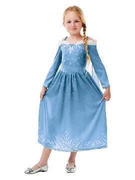 disfraz de elsa frozen olaf para niña