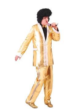 disfraz de elvis golden king hombre