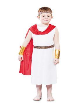 disfraz de emperador cesar para niño