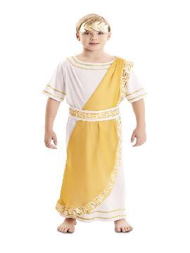 disfraz de emperador romano para niño