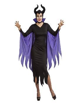 disfraz de emperatriz siniestra mujer